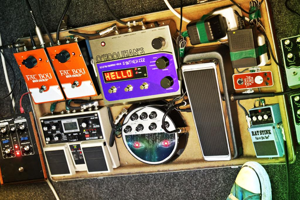 Shoegaze Band's Pedalboard Becomes Self-Aware, Demands