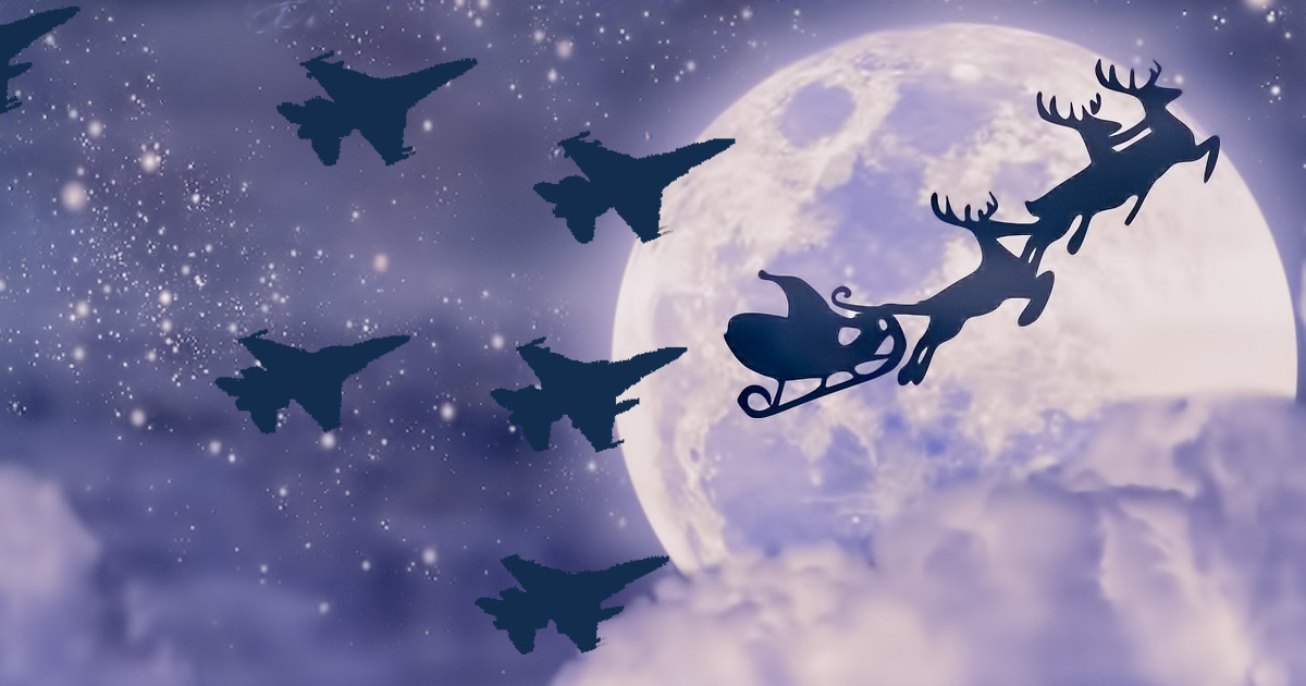 santa u2019s sleigh violates no fly zone  escalating war on