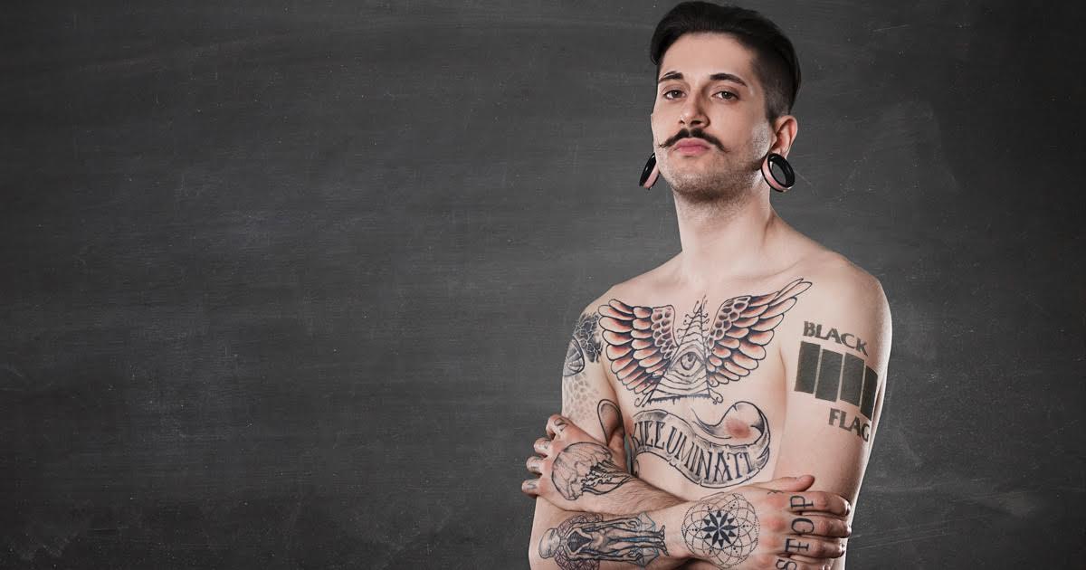 Tattooed Guys Abusing