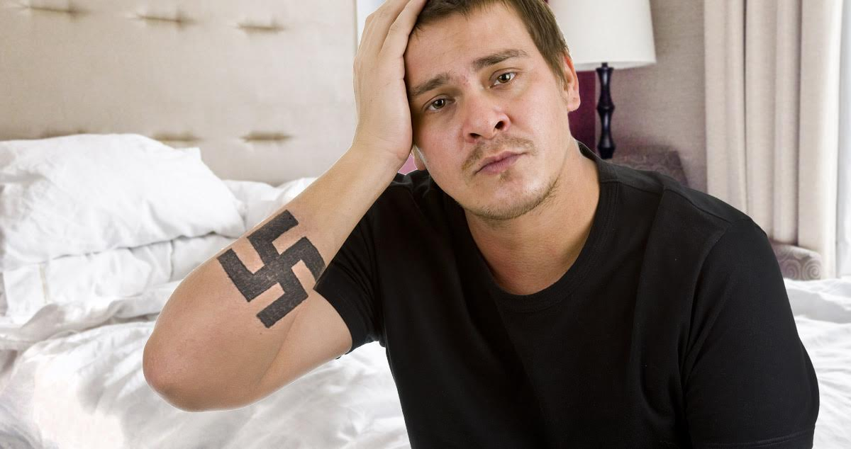 Help My Anti Swastika Tattoo Is Just A Swastika Until I Can Afford