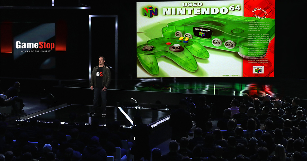 GameStop Unveils Used N64 at E3