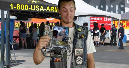 I Think I Am the Only Person Who Joined the Army at Warped Tour