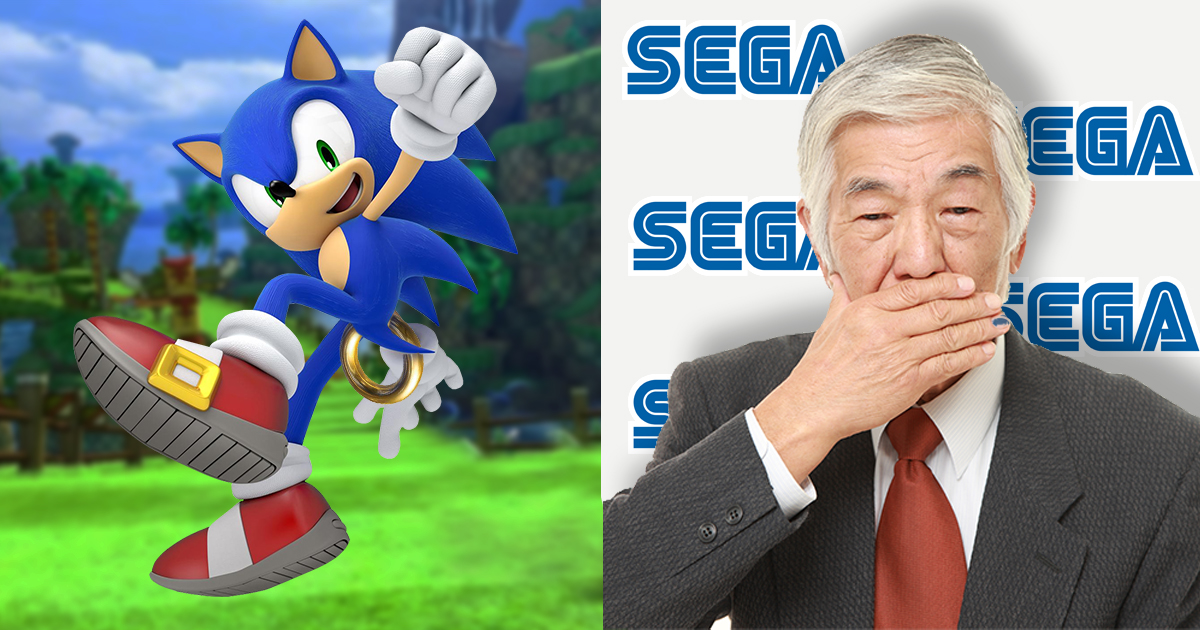 Sega Refuses To Reveal Which Body Part Sonic Puts The Rings In