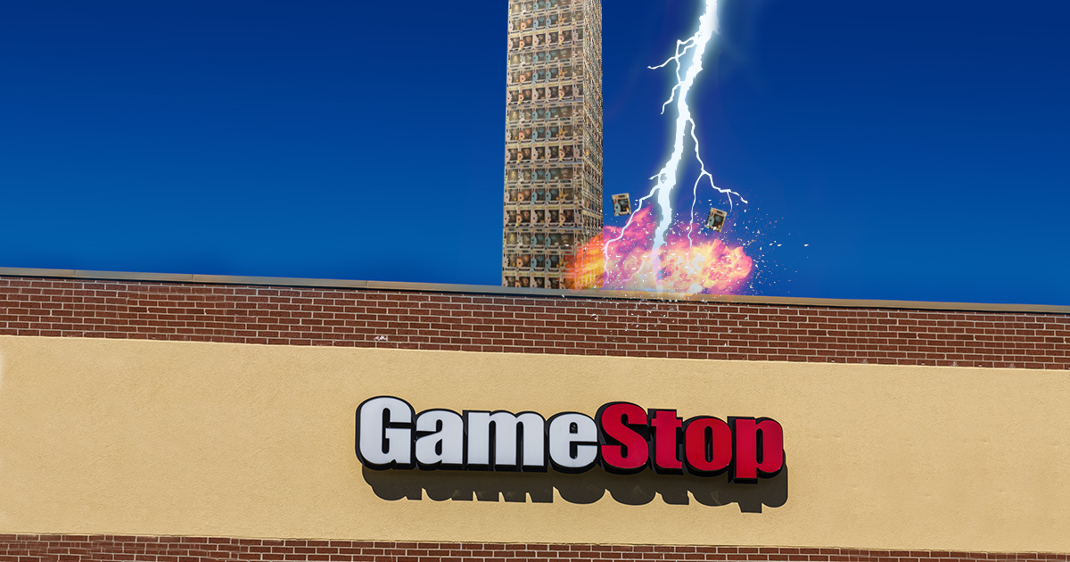 God Punishes GameStop Employees for Building Funko Pop Tower