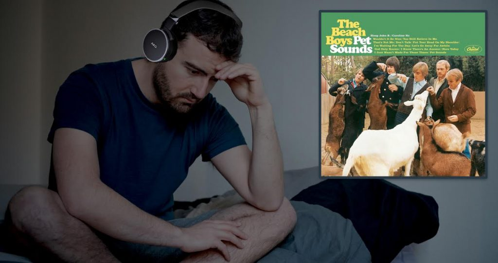 We Revisit Pet Sounds by the Beach Boys and by We I Mean Me, Alone, Like Always