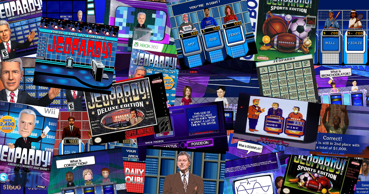 RANKED: All 324 Jeopardy! Video Games