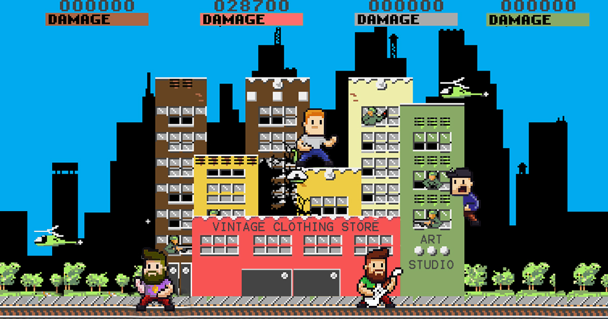 Rampage Reboot Sees Art Student Monsters Destroy Neighborhood With