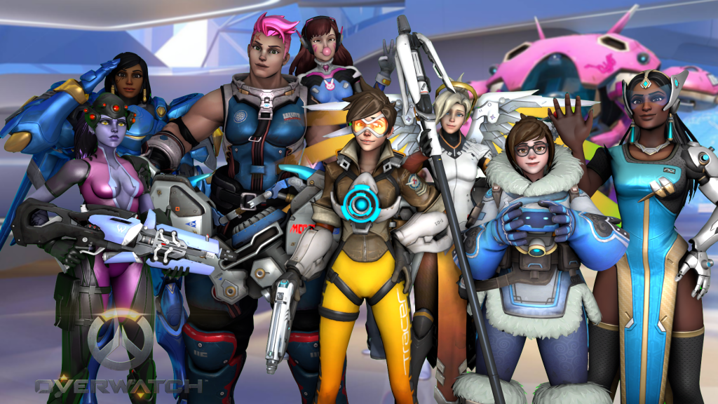If you 39 re such a big overwatch fan then name which - Female cartoon characters wallpapers ...