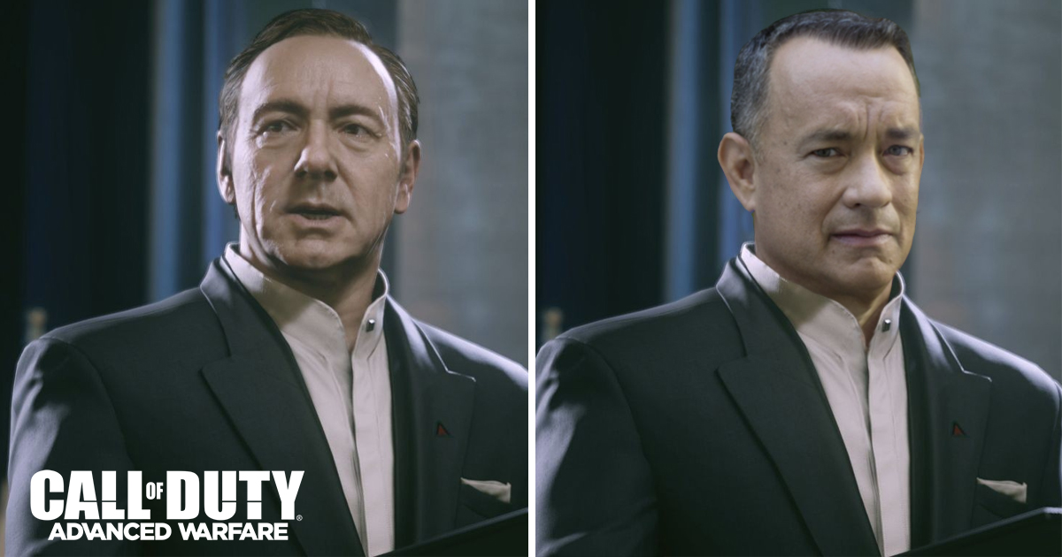 New Patch Replaces Kevin Spacey in Call of Duty: Advanced