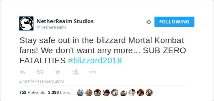 "NetherRealm Studios Apologizes for Poorly Timed ""Sub-Zero"