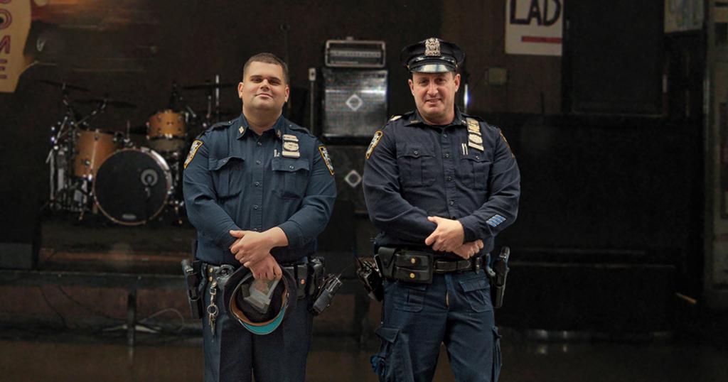 cops, support, local, scene