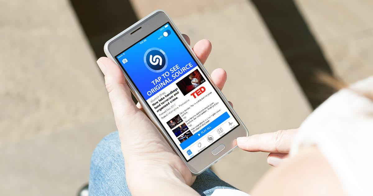 New Shazam Feature Identifies Which TED Talk Friend Ripped