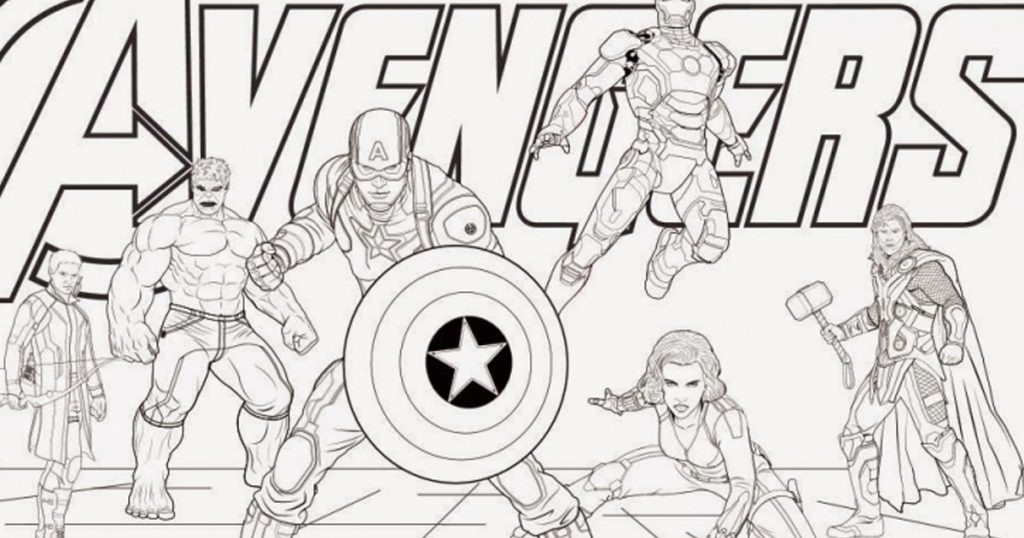 Marvel Announces Coloring Book Edition Of Avengers So You