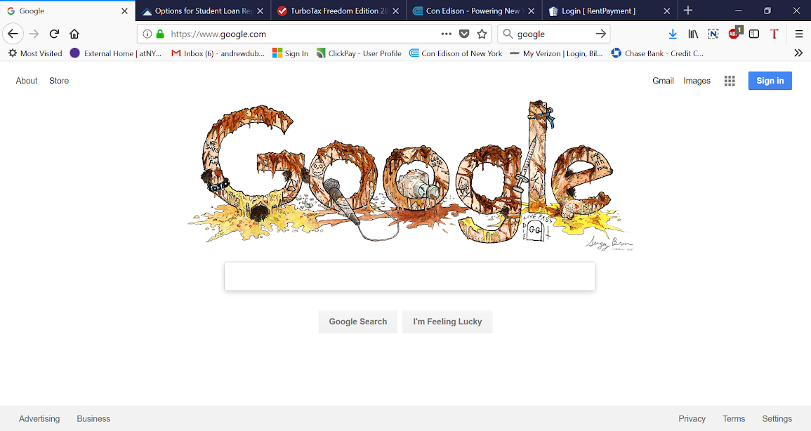 gg, allin, gg allin, google, doodle, offensive, search engine