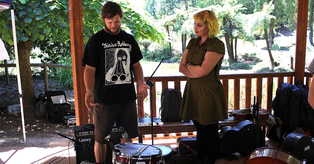 folk, punk, folk punk, washboard, cans, band, drums, diy