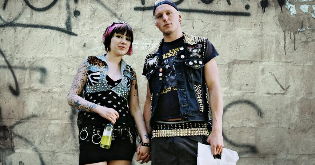 valentine's day, punk, couple, kink, experiment