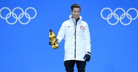 shaun white, gold, medal, mountain dew