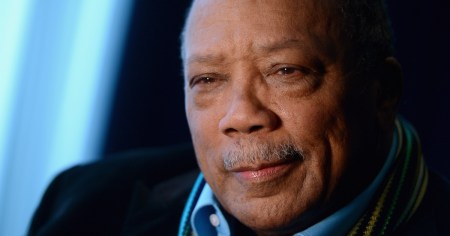 quincy jones, music, producer, legend, interview