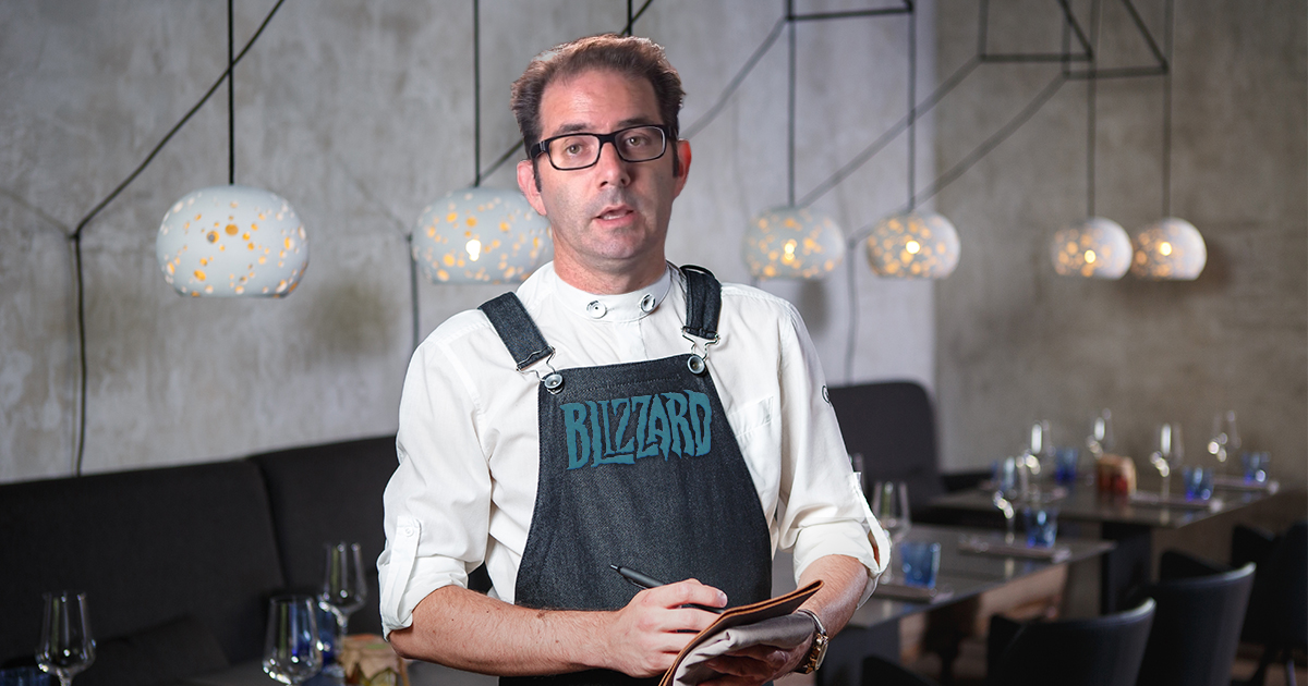 Blizzard Launches Restaurant With Shitty Servers