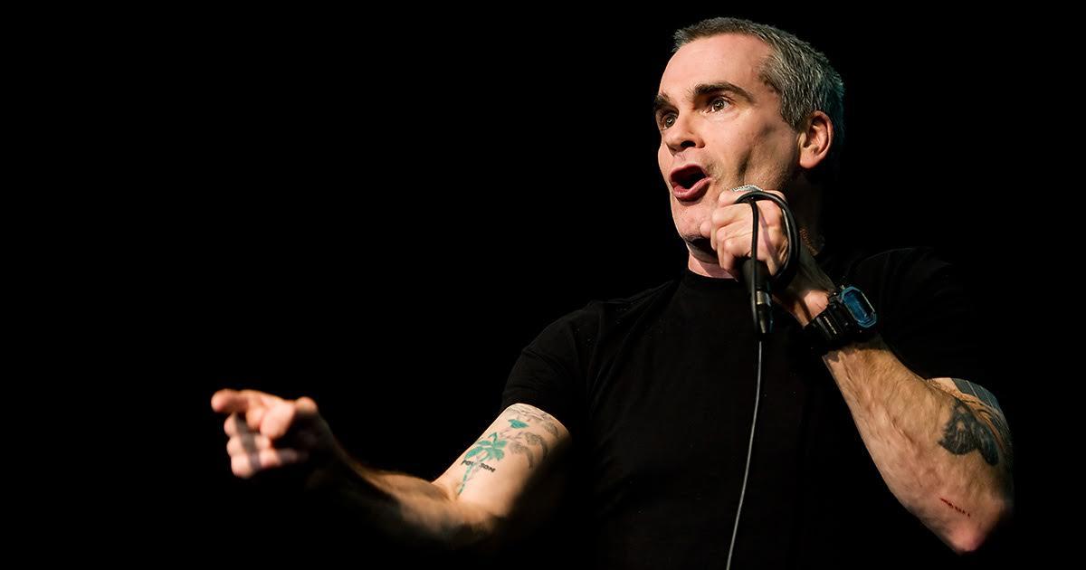 henry rollins, henry, rollins, spoken word, sung word, black flag