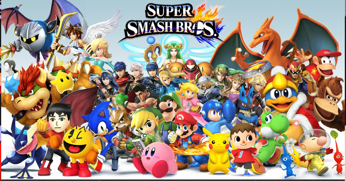 b0e9a6986fd I Will Not Play the New Smash Bros Unless it Includes All 642 of These  Characters