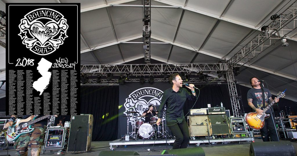 bouncing souls, tour, new jersey