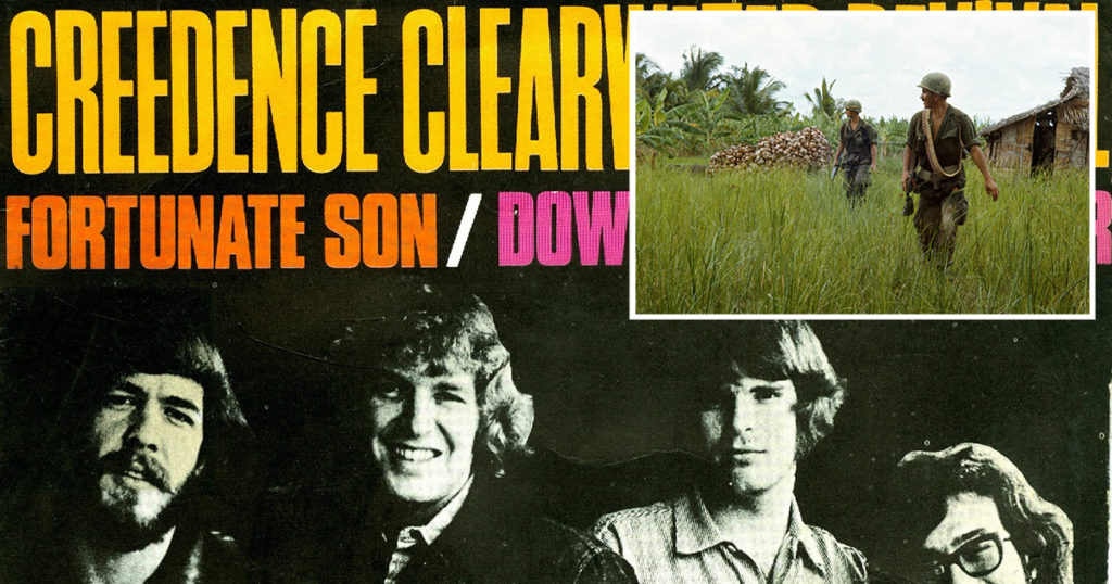 fortunate son, vietnam, ccr