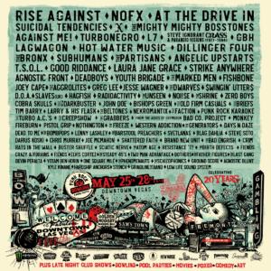 punk rock bowling, festival, poster