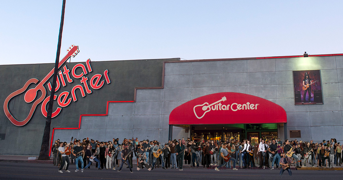 guitar center, solos, guns n roses