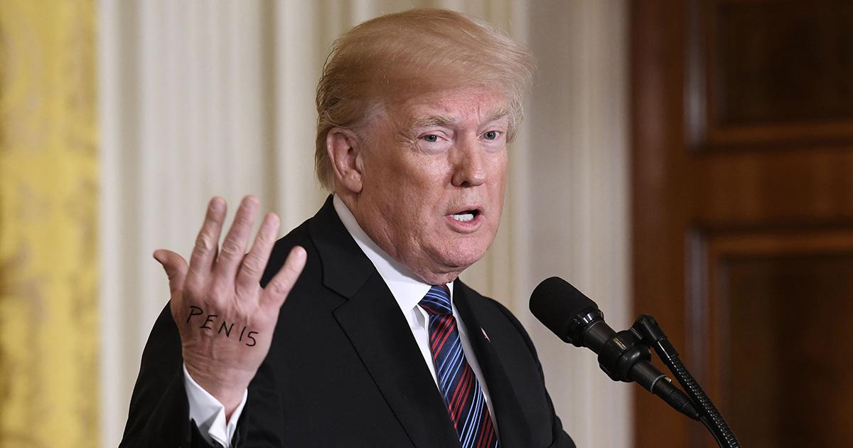 trump, pen15, prank