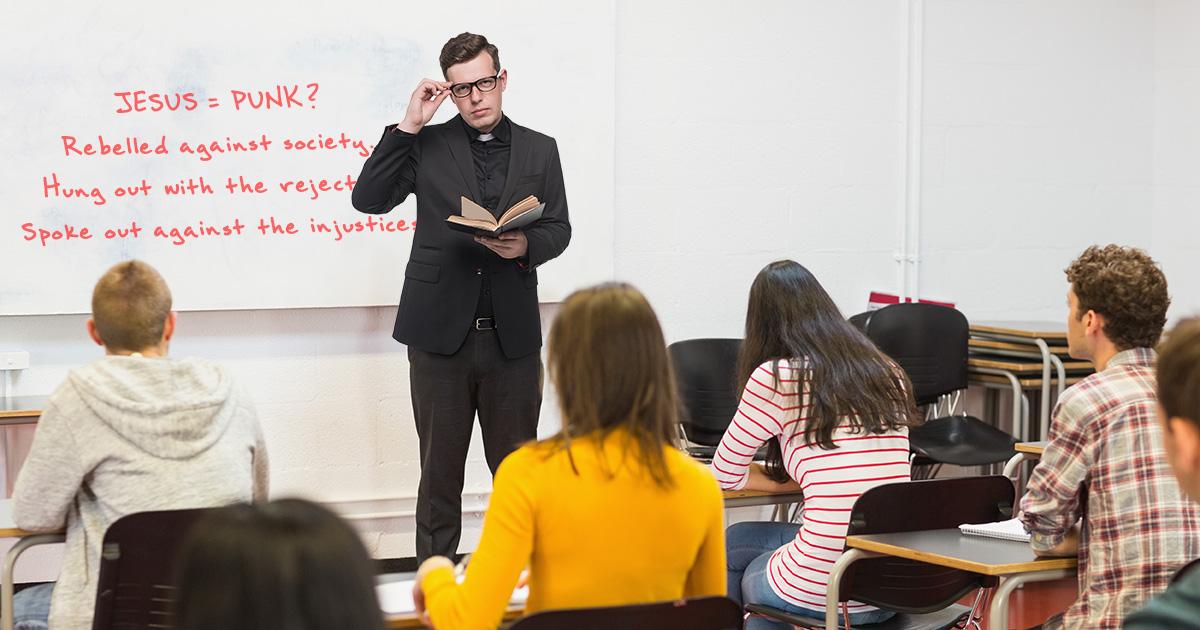 youth, pastor, jesus