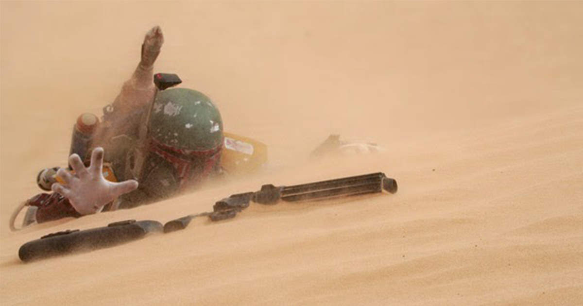 Boba Fett Movie Rumored to be 90 Minutes of Climbing Out of