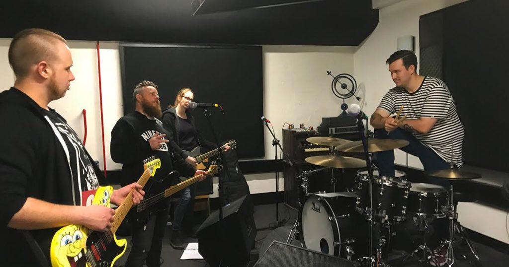 bass, jam, session, relationship