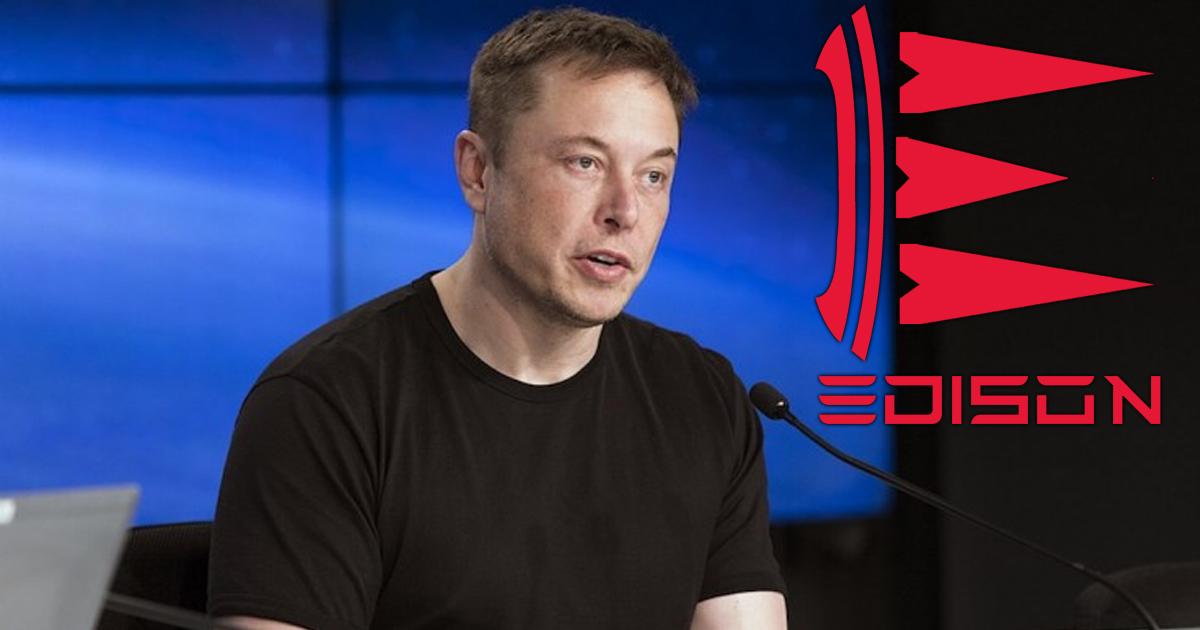 Elon Musk Changes Company Name to Edison
