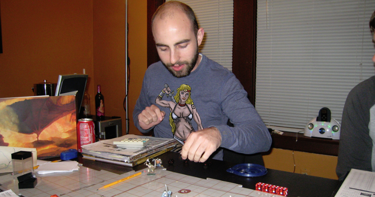 Guy in D&D Group Clearly Wants to Fuck His Character