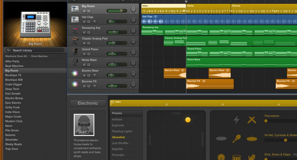 Garageband 08 click track/midi track tutorial youtube.