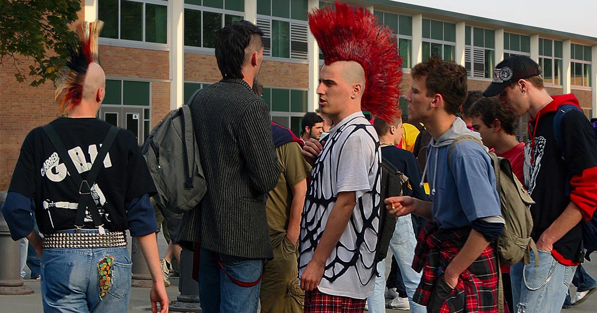punk, scene, summer school