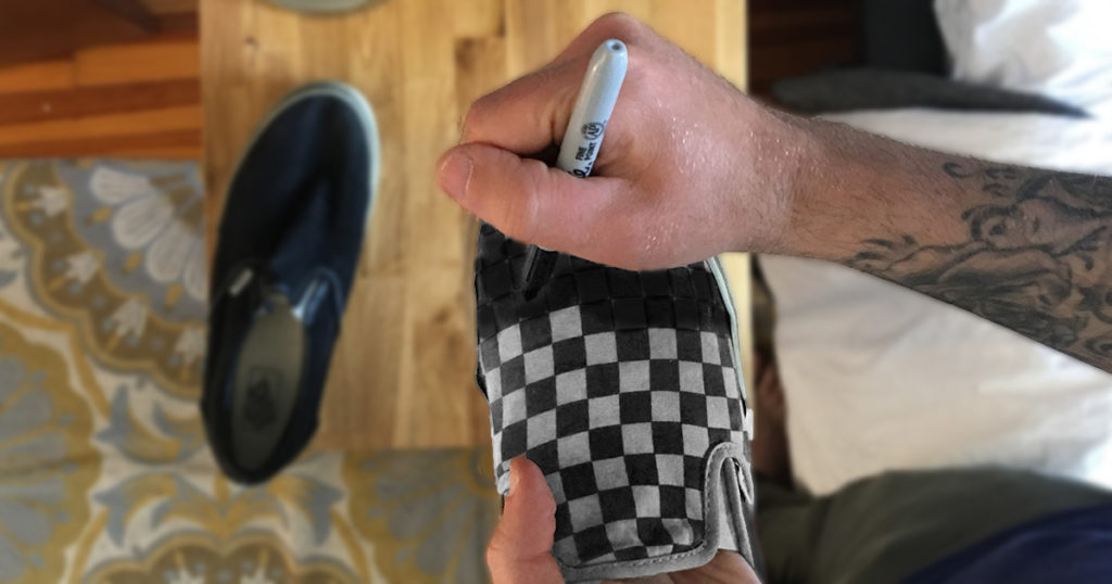 ska, vans, checkered