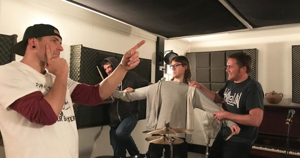 drummer, split, scene, cut
