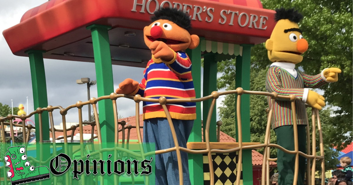 opinion while you re distracted by bert and ernie s sexuality