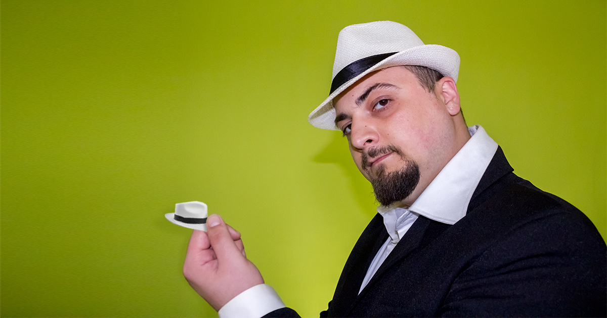 Nerd Buys Tiny Fedora to Wear on Penis In Case Anyone Sees It 1a4cee3071d