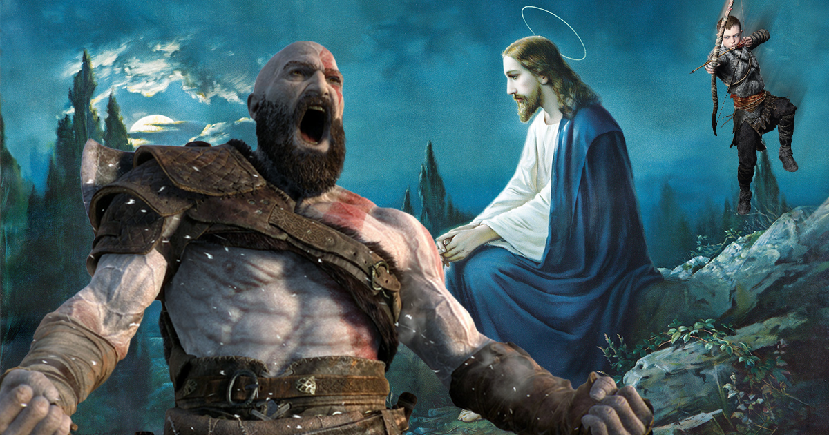Rip-Off: God of War Christianity DLC Only Has One Boss