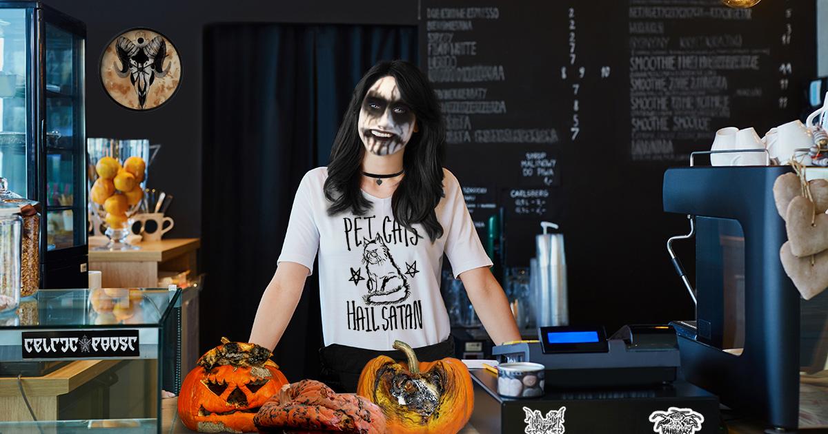 pumpkin, latte, barista
