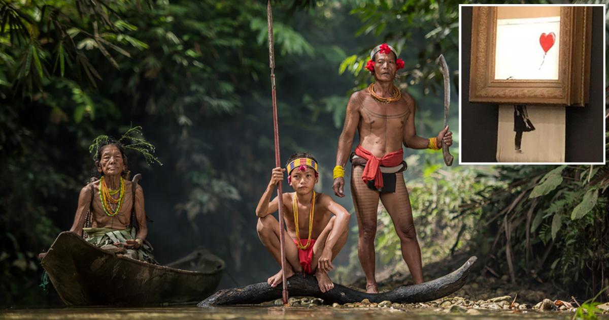 banksy, art, tribe