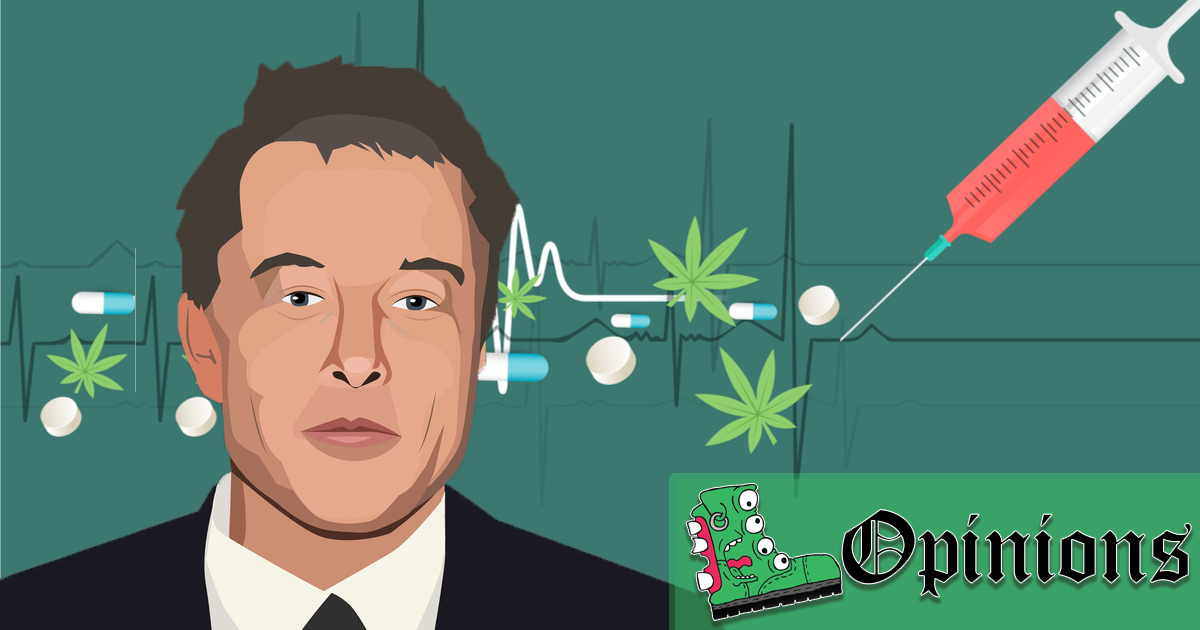 Opinion: If Musk Was a Real Maverick He Would Shoot Heroin on Jordan Peterson's Podcast
