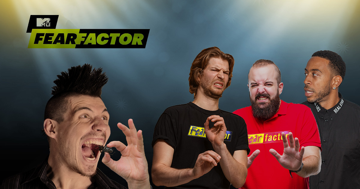 Punk on Fear Factor Won't Stop Eating Bugs