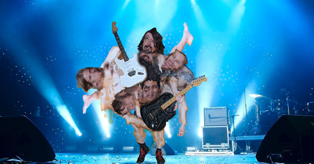 foo fighters, dave grohl, nirvana