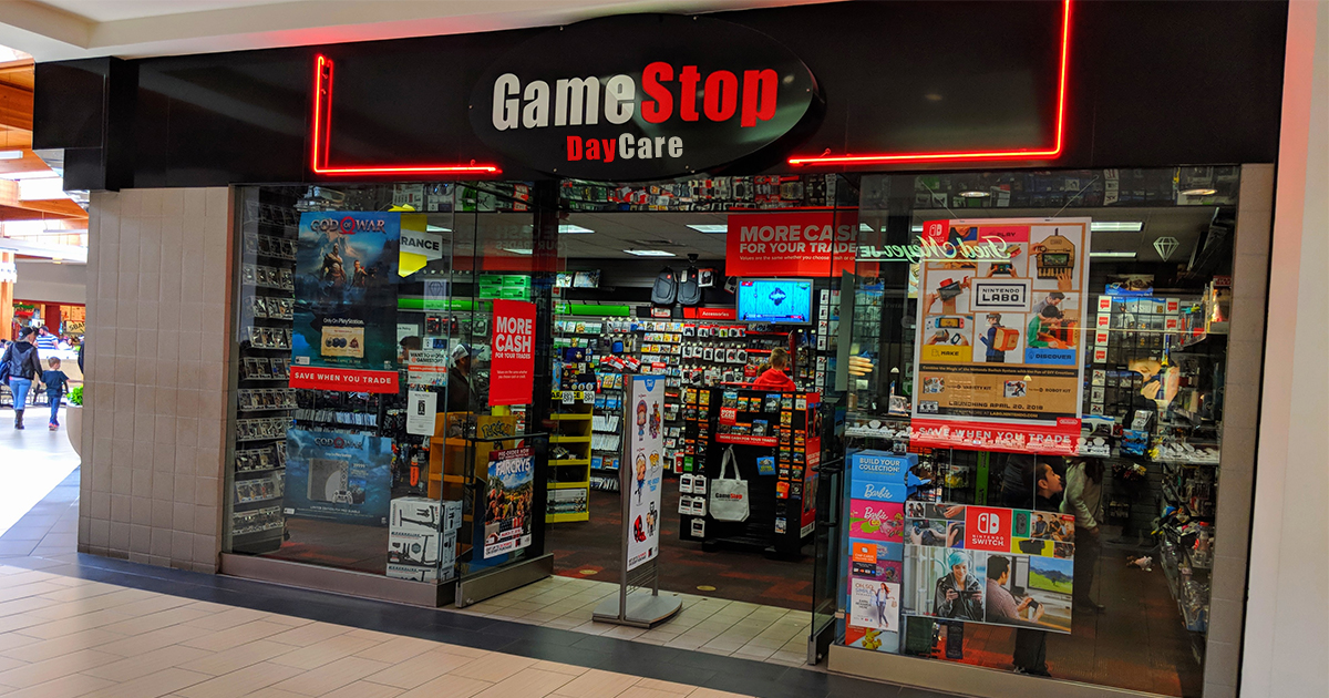 Mall Gamestop To Start Charging For Daycare