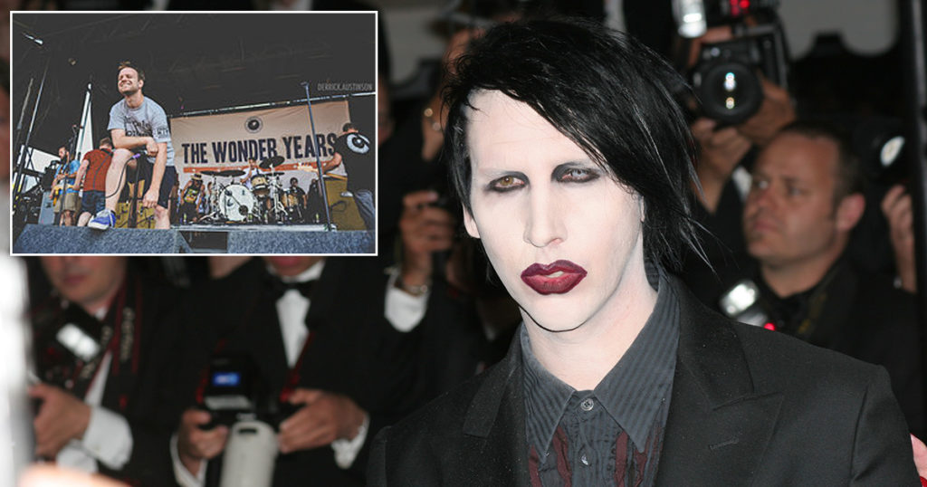 marilyn manson, the wonder years, rumor