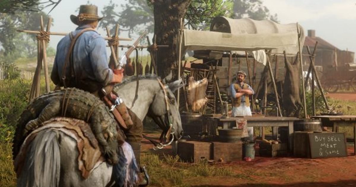 Red Dead Camp Desperately Low On Medicine Fully Stocked With 200 Dead Animals